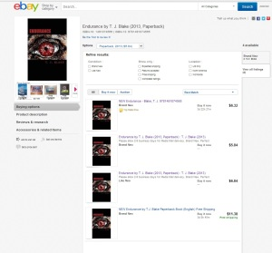 Endurance available on ebay!