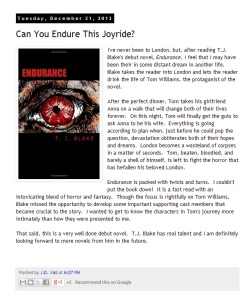 Endurance reviewed