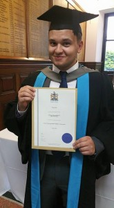 T. J. Blake writer graduate Kingston University