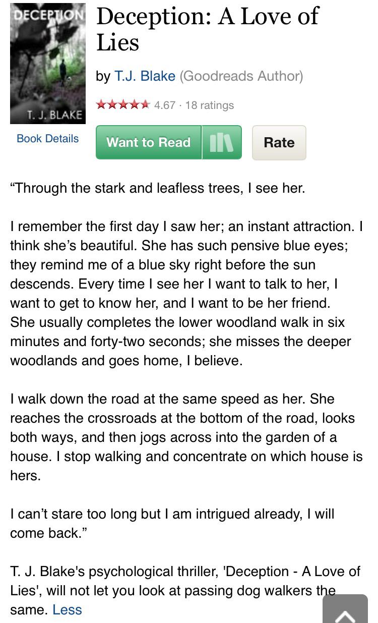 Deception A Love of Lies Goodreads