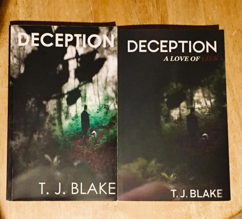DECEPTION book cover comparison