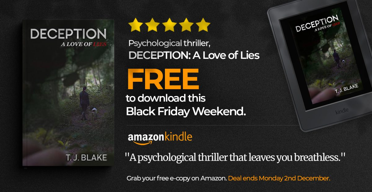 DECEPTION Black Friday Deal - Free eBook on Amazon