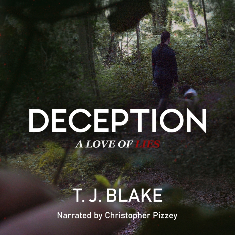 DECEPTION: A Love of Lies audiobook now on Audible - narrated by Christopher Pizzey